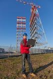 Engineer at Work Royalty Free Stock Photo