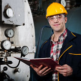 Engineer at work Royalty Free Stock Photo