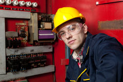 Engineer at work Royalty Free Stock Photography