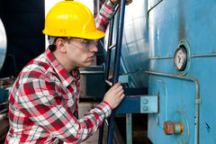 Engineer at work Stock Image