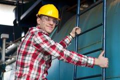 Engineer at work Royalty Free Stock Image