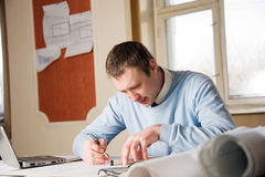 Engineer in work. Stock Images