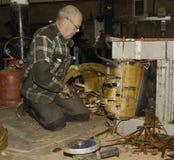 Engineer working Royalty Free Stock Photo