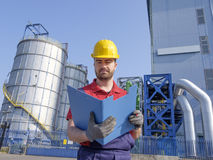 Engineer working Royalty Free Stock Photography