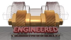 Engineered mechanics Stock Photo