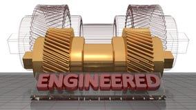 Engineered mechanics Stock Photo