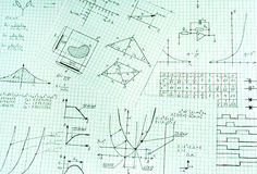 Engineering. Picture of several engineering schemes Stock Photography
