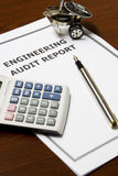 Engineering Audit Report Stock Images
