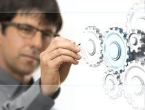 Engineering Background Stock Photography