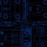 Engineering background Stock Image
