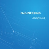 Engineering background for projects. Underground pipeline plan.  Royalty Free Stock Photos