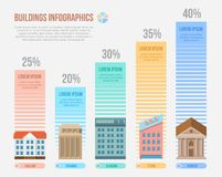 Engineering and building infographics Stock Image
