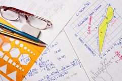 Engineering calculation Stock Photography