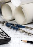 Engineering Calculations Stock Images