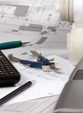 Engineering Calculations royalty free stock photo
