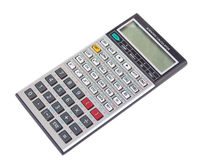 Engineering calculator isolated Royalty Free Stock Images