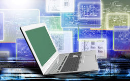 Engineering computer Internet technologies Royalty Free Stock Images