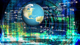 Engineering computer Internet technology.Generation Royalty Free Stock Image
