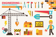 Engineering concept illustration Royalty Free Stock Images
