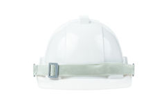 Engineering concept, safety helmet on white background Stock Photos