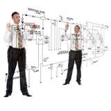 Engineering construction designing stock photo