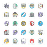 Engineering Cool Vector Icons 1 Royalty Free Stock Images