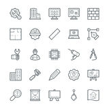 Engineering Cool Vector Icons 1 Stock Photo
