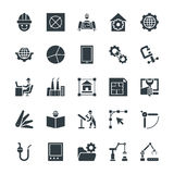 Engineering Cool Vector Icons 3 Royalty Free Stock Photos