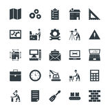 Engineering Cool Vector Icons 2 Stock Images