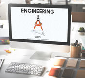 Engineering Create Ideas Occupation Professional Concept Royalty Free Stock Images