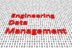Engineering data management Royalty Free Stock Photos