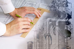 Engineering designing Stock Images