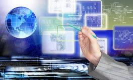 Engineering designing technology Stock Photos