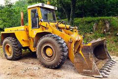 Engineering digger machine Stock Images