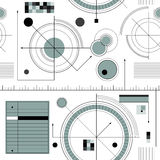 Engineering draft pattern Royalty Free Stock Photos
