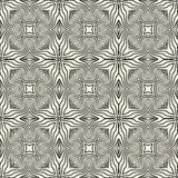 Engineering draft seamless pattern. Geometric vector wallpaper or website background. Royalty Free Stock Photos
