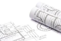 engineering för ritningar Royaltyfri Bild