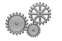 Engineering gear. Computer generated background Stock Photo