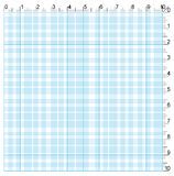 Engineering graph paper Stock Image