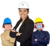 Engineering group Stock Image