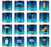 engineering icon set Stock Photo