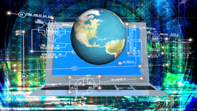 Engineering innovation computer technology Royalty Free Stock Photos