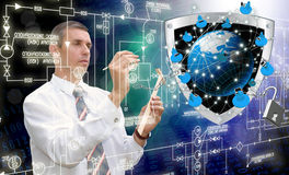 Engineering  Internet technologies Stock Photos
