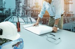Engineers work concept stock photography