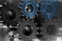 Engineering parts concept Royalty Free Stock Image