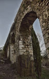 Engineering of the past. Ancient Roman aqueduct still in use in the XXI century Royalty Free Stock Photography