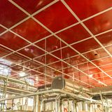 Engineering plant room at Queensway Mersey Tunnel building, Live. Rpool, uk stock photos