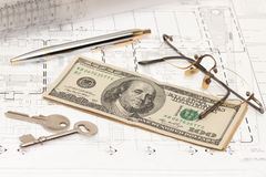 Engineering project planning Royalty Free Stock Image