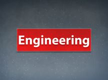 Engineering Red Banner Abstract Background stock illustration