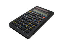Engineering (scientific) calculator isolated. On white Stock Photos